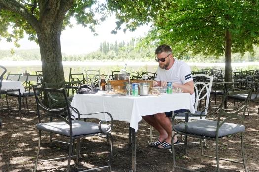 picknick i rosträdgården